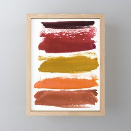 A World With Octobers Framed Mini Art Print