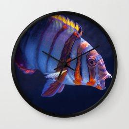 Clown Fish (Color) Wall Clock