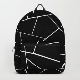 Black White Geometric Glam #3 #geo #decor #art #society6 Backpack