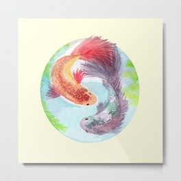 Fish on my mind Metal Print