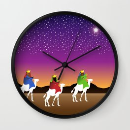 The Wise Men Wall Clock