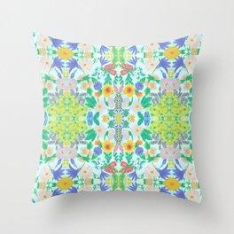 Garden for the Enlightenment Throw Pillow
