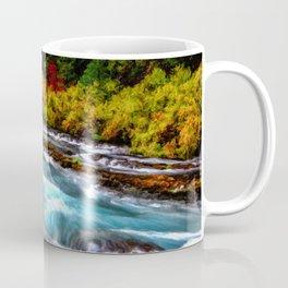 Autumn Metolius River Oct 2020, © David Millenheft Art Collection,  Coffee Mug
