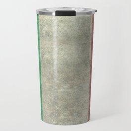 Flag of Italy, worn grungy style Travel Mug