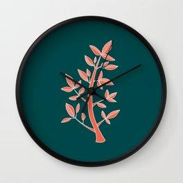Tiny Tree Wall Clock
