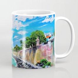 Paseo del Morro, Old San Juan, Puerto Rico Coffee Mug