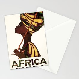 Advertisement Africa Stationery Cards