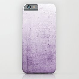 Radiant Orchid Purple Ombre iPhone Case