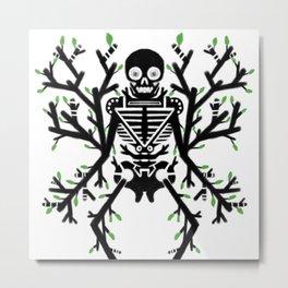 Tree Marrow, Calcium Roots Metal Print
