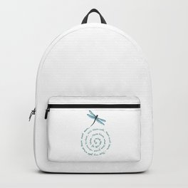 Witches rule of Three and dragonfly Backpack