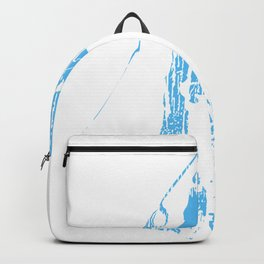 Abstract Great White Shark Backpack