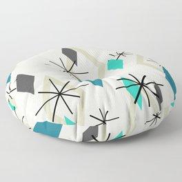 Mid Century Modern Diamonds Floor Pillow