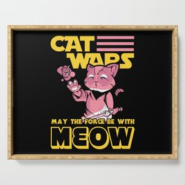 Cat Wars Serving Tray