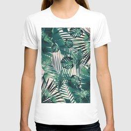 Tropical Jungle Leaves Siesta #2 #tropical #decor #art #society6 T-shirt