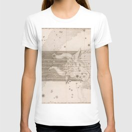 Johann Bayer - Uranometria / Measuring the Heavens (1661) - 21 Taurus T-shirt