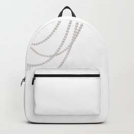 White Pearls Backpack