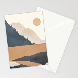 Minimalistic Landscape IV Stationery Cards