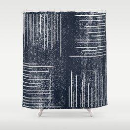 glacier print Shower Curtain