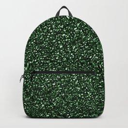 Green Glitter Backpack