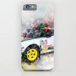 Lancia Stratos HF Rallye iPhone Case