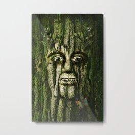 The Tremendous Mr. Treebley Metal Print