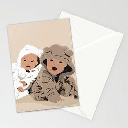Teddy Bear Babies Stationery Cards