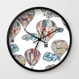 My Flying Dreams are Over Wall Clock