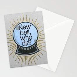 New ball, who dis? Stationery Cards