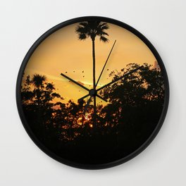 Pause to Rewind Wall Clock
