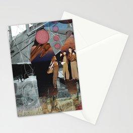 Flieger, gruess mir die Sonne... Collage Stationery Cards