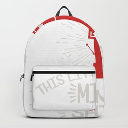 This Little Light Of Mine I'm Gonna Let It Shine T-shirt Design Made Perfectly For Car Racers! Backpack