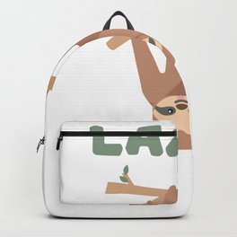 It's Called Selective Participation - Funny Sloth Backpack