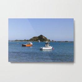 Island Bay Beach Metal Print