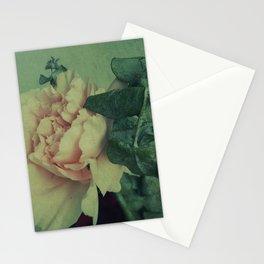 Pensamientos verdes Stationery Cards