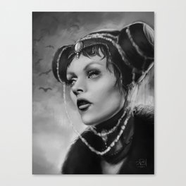 Vampire Queen Canvas Print