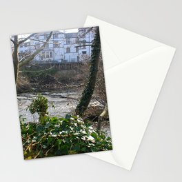 Fast Current On Early Spring Stationery Cards