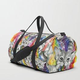 Kittens Puking Rainbows Pattern Sporttaschen