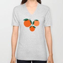 California Wild Oranges Unisex V-Neck