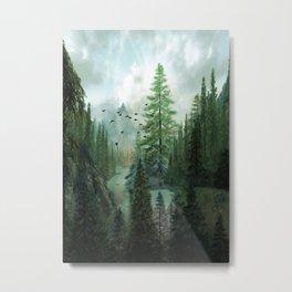 Mountain Morning 2 Metal Print