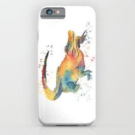 Colorful Alligator  iPhone Case