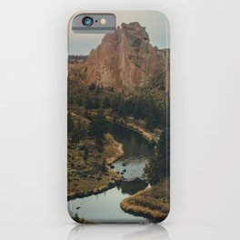Smith Rock iPhone Case