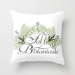 Fall Botanicals Throw Pillow