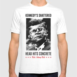 Misfits JFK Poster Series - Head Hits Concrete T-shirt