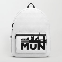 Münster Germany Skyline Gift Idea Backpack