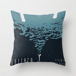 Portrait Gattaca Throw Pillow