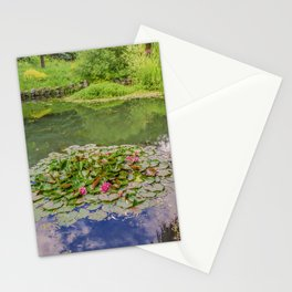 The Water Lily Pond Stationery Cards