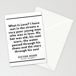 3   | Victor Hugo Quotes | 190830 Stationery Cards