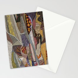 The Land Mosaic Stationery Cards