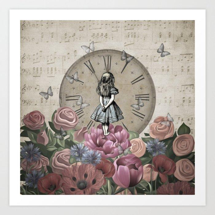 Alice In Wonderland - Wonderland Garden Kunstdrucke