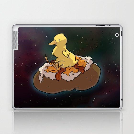 Space Duck Laptop & iPad Skin